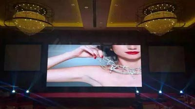 Front Maintenance LED Screen In Hotel