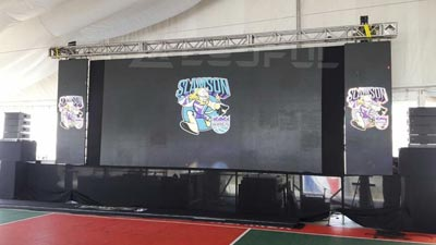 Product Launch Event LED Screen
