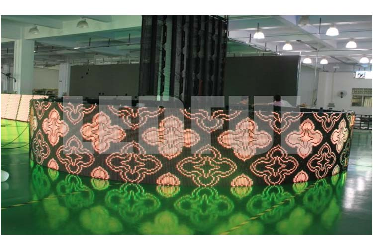 Customized Irregular Shaped LED Display Project-2