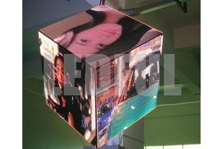 Customized Irregular Shaped LED Display Project-6