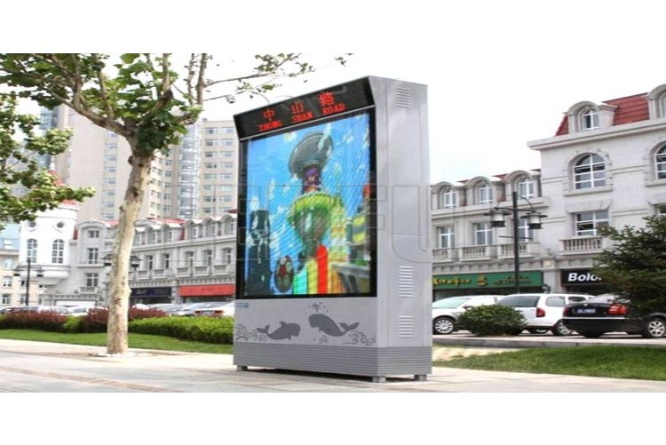 LED Advertising Lightbox Digital Signage Projects and Advant