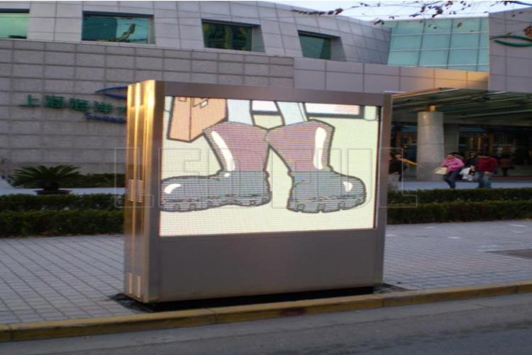 LED Advertising Lightbox Digital Signage Projects and Advant-5
