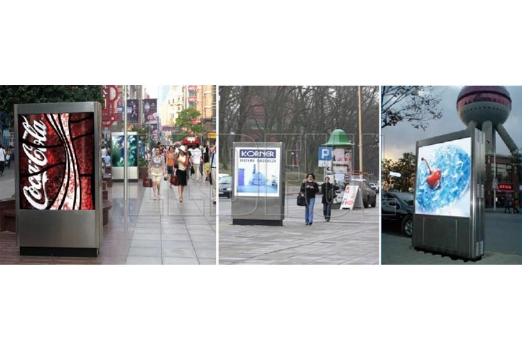 LED Advertising Lightbox Digital Signage Projects and Advant-8