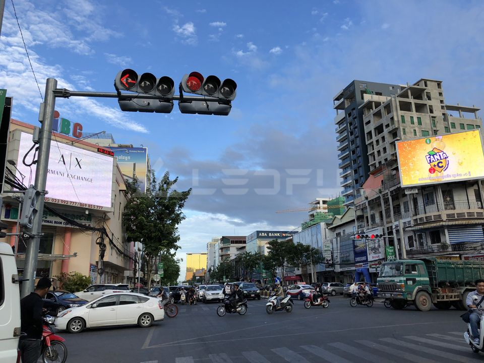 Cambodia Outdoor Videowall Advertising Display