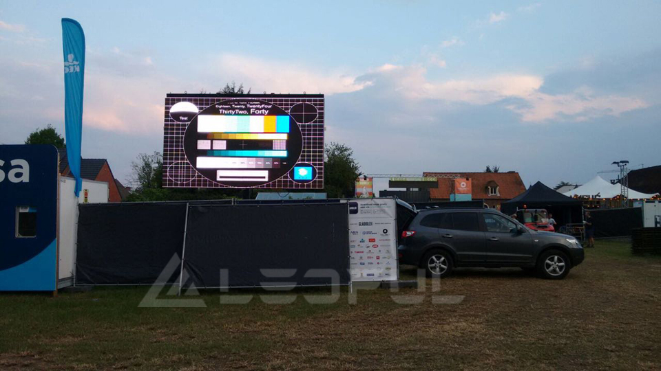 Sweden Outdoor Rental LED Display