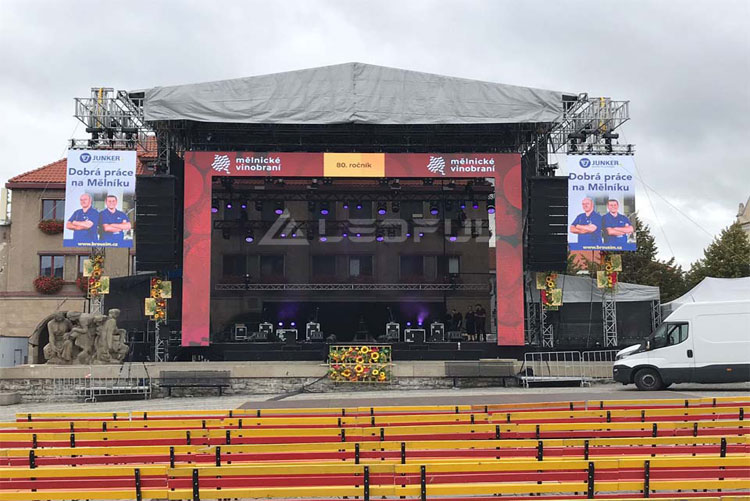 Czech Outdoor Rental LED Display