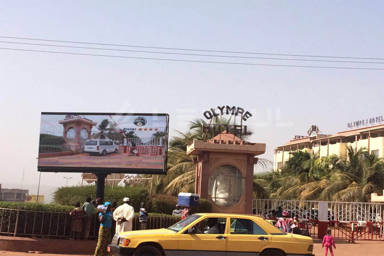 Mali Outdoor Street Advertising Display