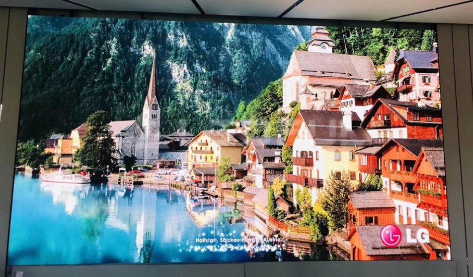 Spain High Definition Indoor Advertising LED Display