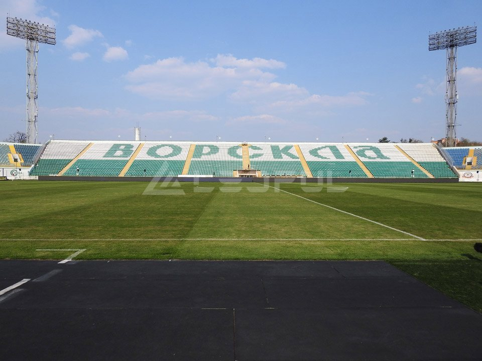 Ukraine Football Stadium LED Perimeter Display