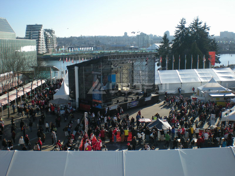 Canada Winter Olympic Outdoor Event LED Screen