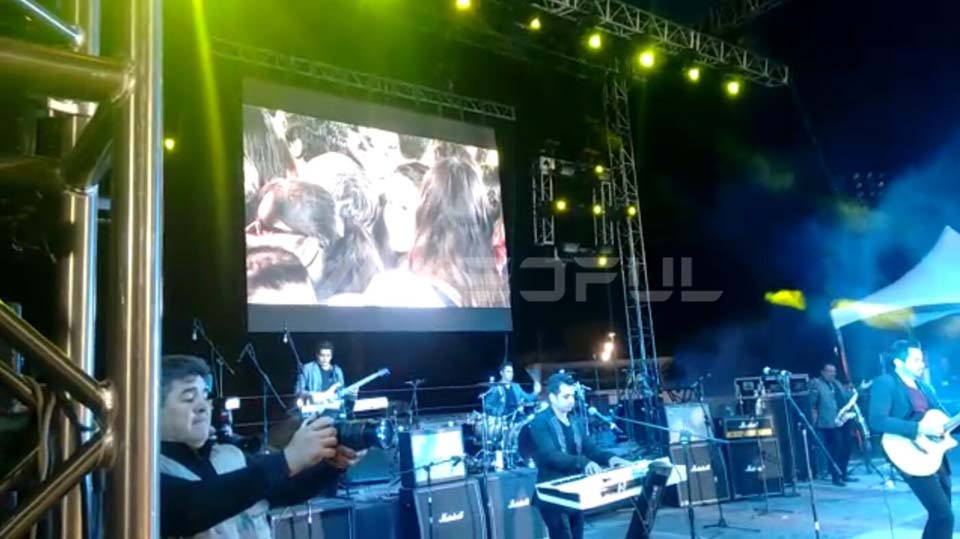 Mexico Outdoor Jazz Music Event LED Screen