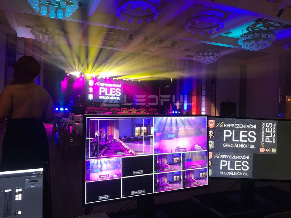 Czech Indoor Stage Event LED Display