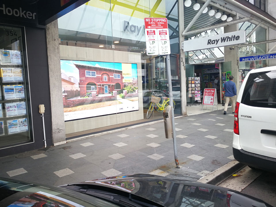Australia Semi-Outdoor Advertising LED Display