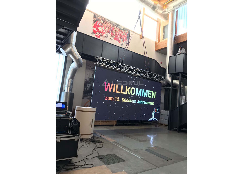 Czech Outdoor Rental Event LED Display