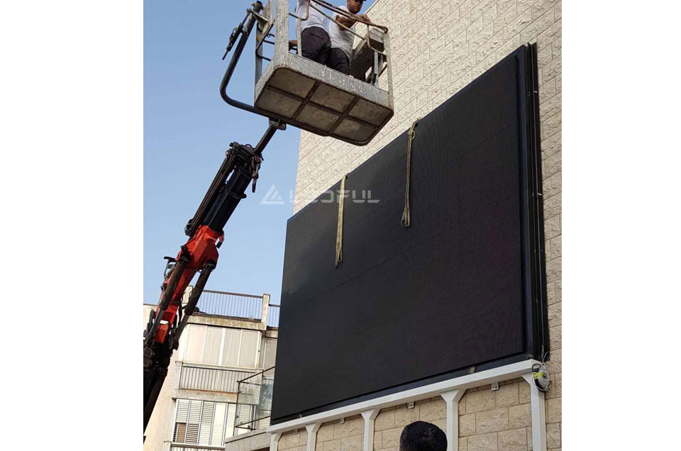Israel Outdoor Videowall LED Advertising Display