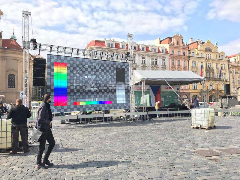 Czech Outdoor Event Rental LED Display