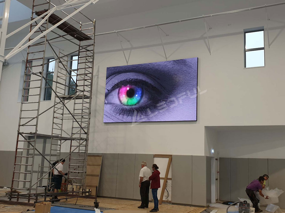 Hungary Indoor Front Installation LED Display