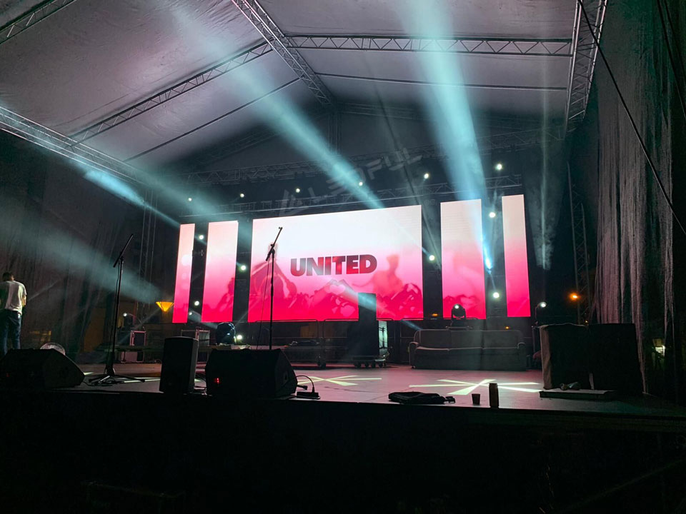 Czech P4.8 Event Stage LED Display
