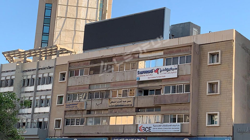 Kuwait Outdoor Roof Mounted Advertising LED Display