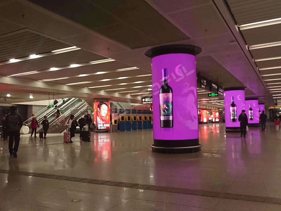 LEDFUL FLEX Series LED Make the Excellent Pillar LED Display