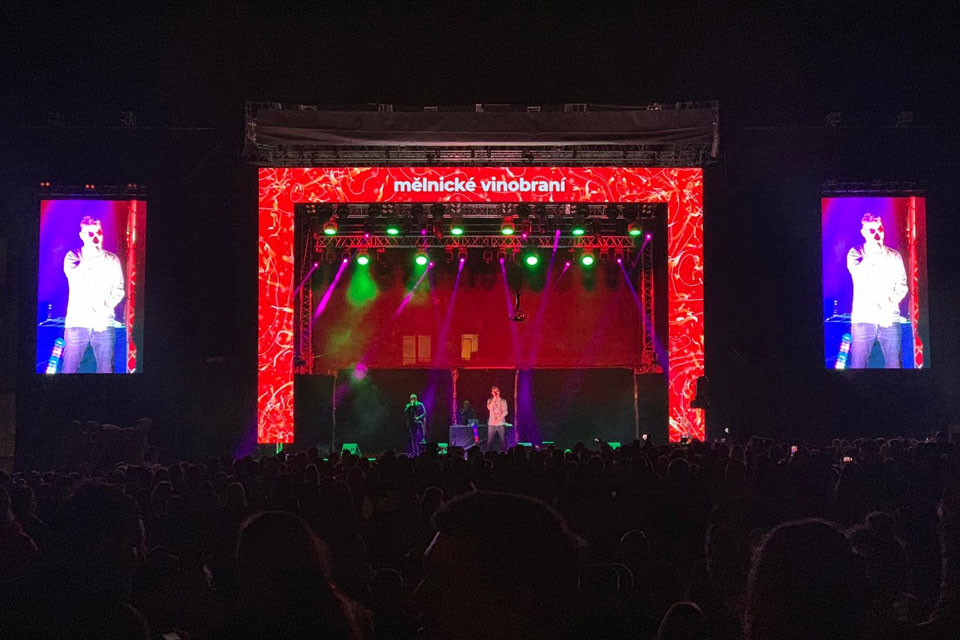 Czech Outdoor Rental Event Stage LED Display