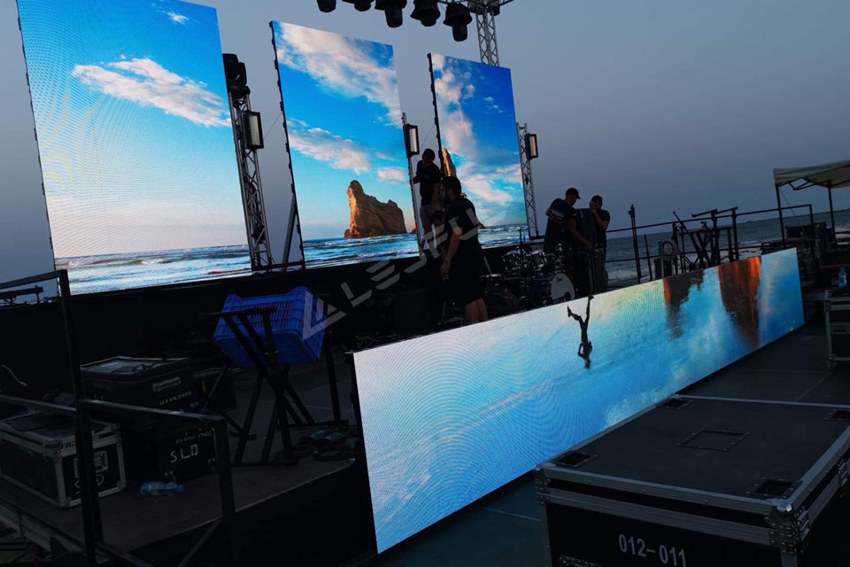 Hot Sale Cyprus 500x500 Outdoor Rental LED Display