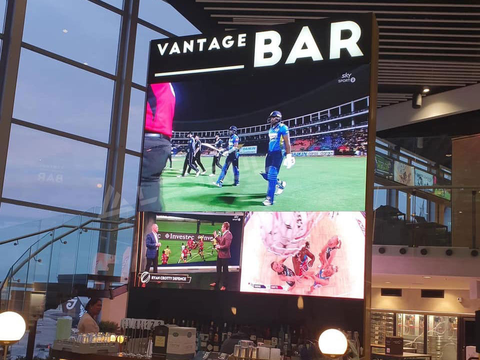 HD Fine Pitch Advertising LED Display Installed in Auckland Airport
