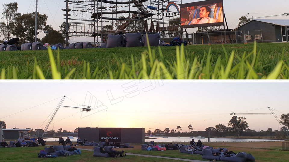 LEDFUL OF6 Outdoor LED Display Installed in the Biggest Cable Park in Australia
