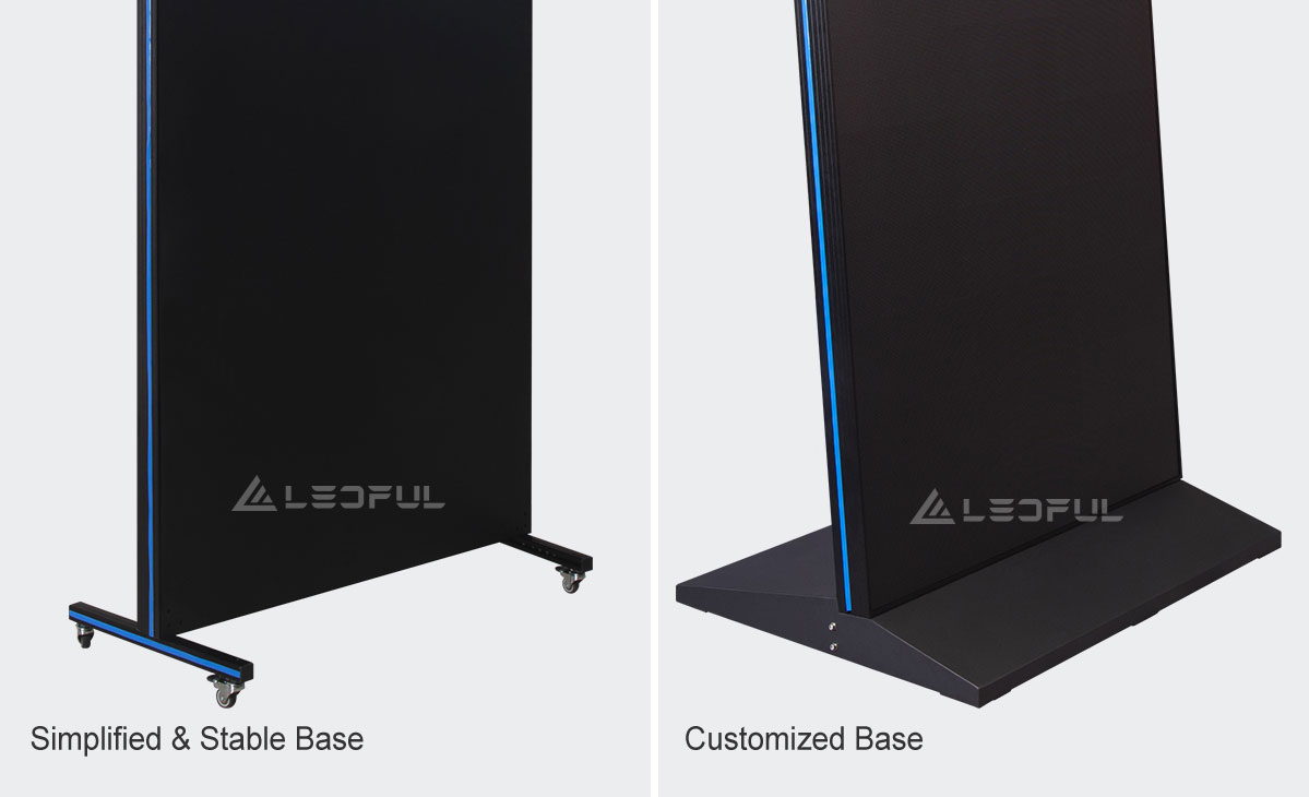 Simplified & Stable Movable Base Support
