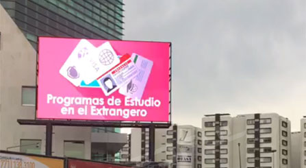 Mexico Outdoor Advertising LED Sign